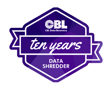 CBL celebrates the continued success of Data Shredder approaching the app's 10 Year Anniversary!