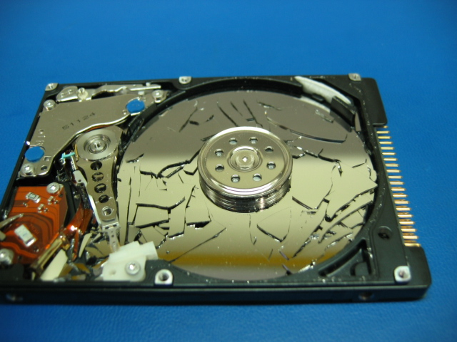 Crashed HDD