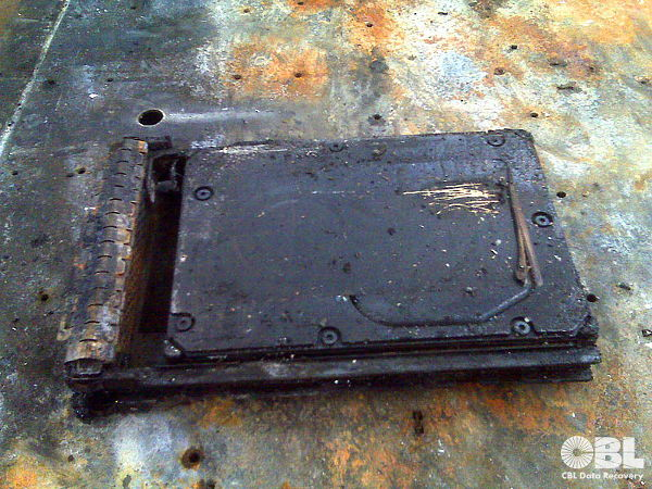 CBL Pictures: From the Ashes - Burnt Server HardDrive