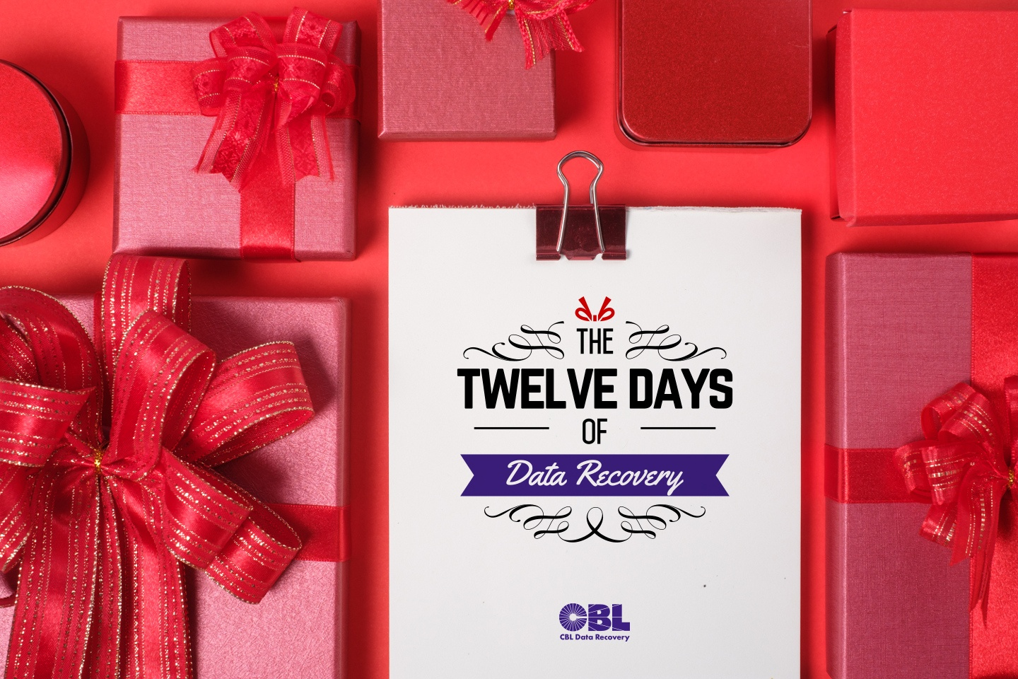 The 12 Days of Data Recovery at CBL