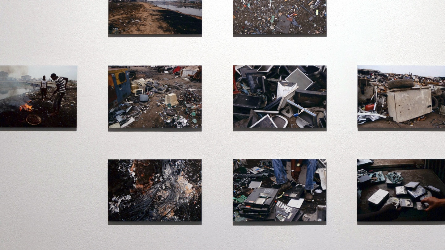 Art Exhibit Focuses on E-Waste Data Dangers