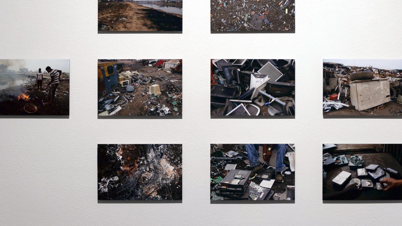 Art Exhibit Focuses on E-Waste DataDangers