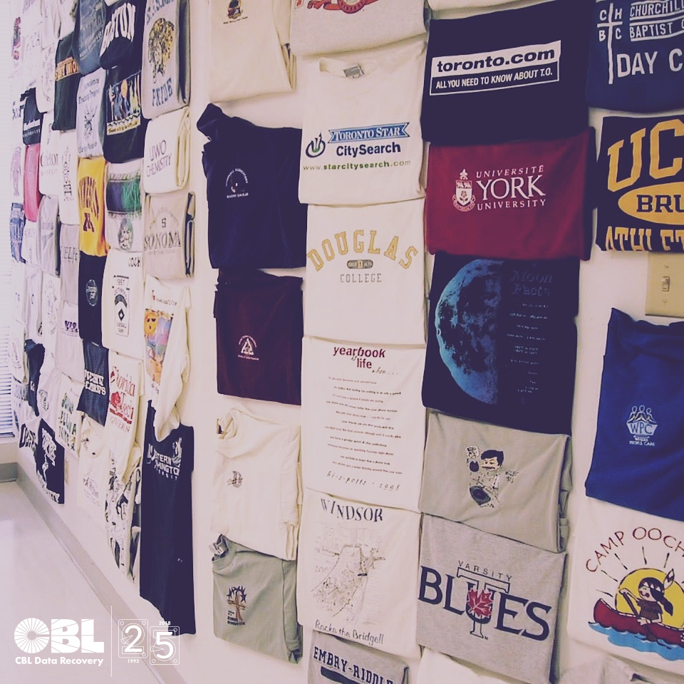 CBL Pictures: Throwback T-Shirts From Thankful Customers