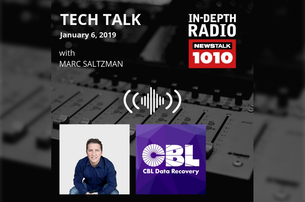 Interview: Talking Tech on Tech Talk Radio with MarcSaltzman