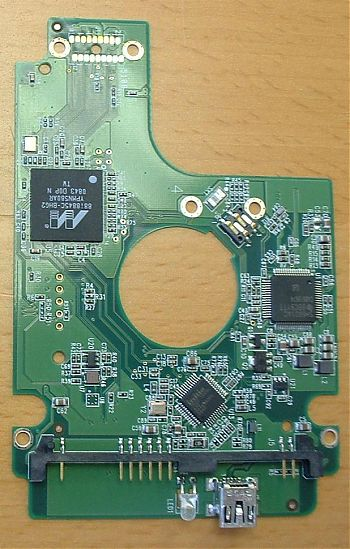 hard drive pcb with usb