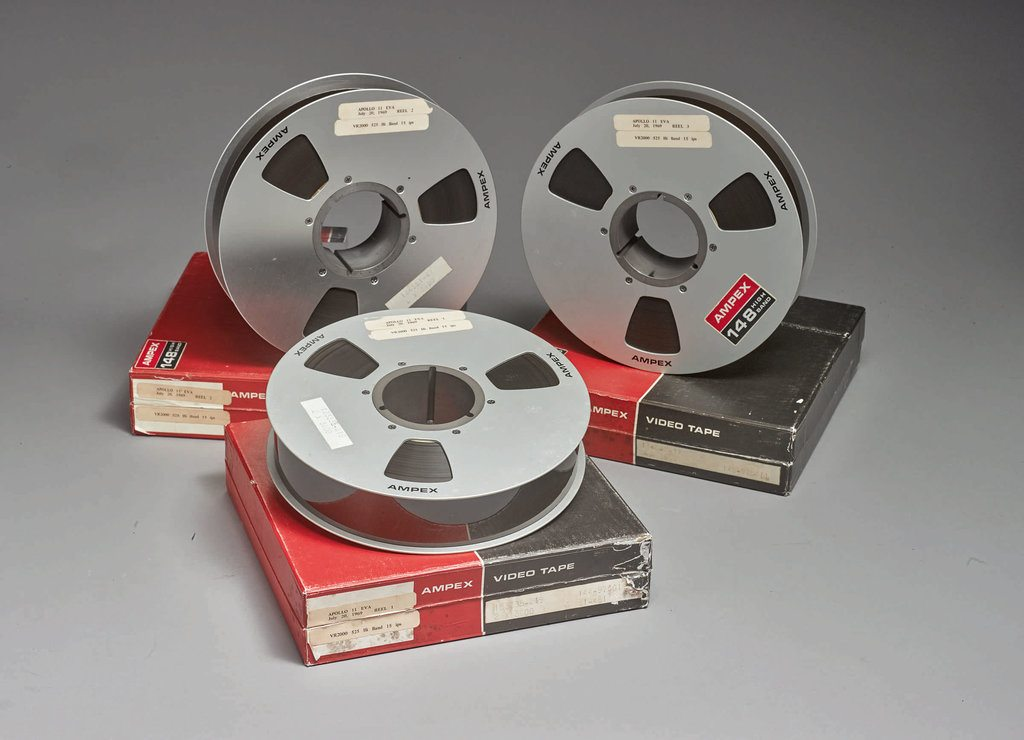 Apollo Moon-Landing Tapes Expected to Fetch Over a Million in Auction