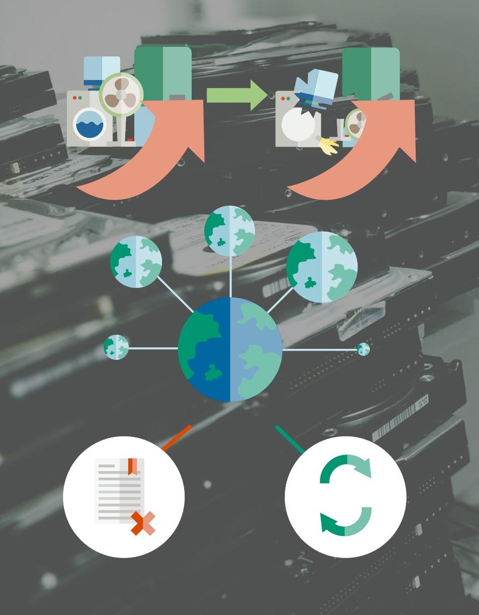 More Electronics, More Data, More E-Waste
