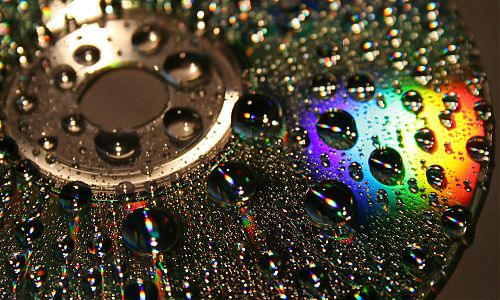 Photo: wet disc; by kirsche222